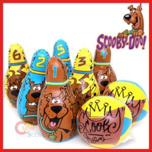 Scooby Doo Mini Soft Bowling Play Set  Kids Sports Toy