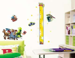 Toy Story Height Kids Room Wall Stickers Decals