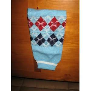 Dog Sweater   Classic Argyle Pet Sweater, Turquoise