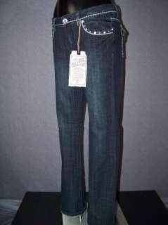 NWT Womens LA IDOL Jeans CRYSTALS BOOTCUT & STUDS