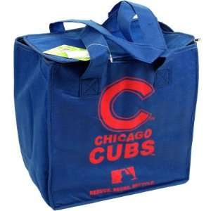 CUBS OFFICIAL LOGO REUSABLE DRINK COOLER BAG Sports & Outdoors