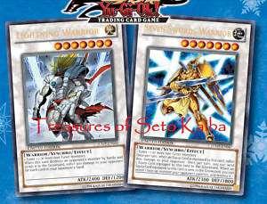 Lightning Warrior JUMP EN046, Seven Swords JUMP EN047