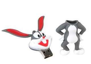 4G Bugs Bunny Cartoon Collectors USB Flash Drive Stick Memory |