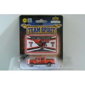 Lil Red Raider Ford F 150 1/87 Scale Diecast Truck with Team Sticker