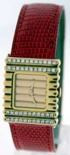 New Van Cleef & Arpels Yellow Gold Ladies Diamond Watch
