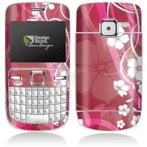 Design Skins for Nokia C3 00   Pink Flower Design Folie