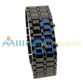 Digital Watch Lava Style Mens Ladies Sports Fashion Wrist Watch Black
