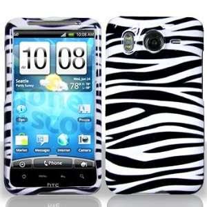 HTC Inspire 4G Black/White Zebra Hard Case (free Special