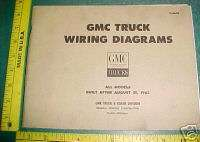 1965 GMC LIGHT MEDIUM HEAVY TRUCK WIRING DIAGRAM MANUAL