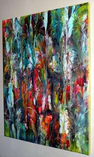 ORIGINAL abstract modern art breasts painting KIRA