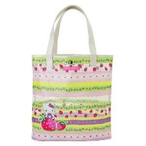 Hello Kitty Vinyl Tote Bag  Strawberry Toys & Games