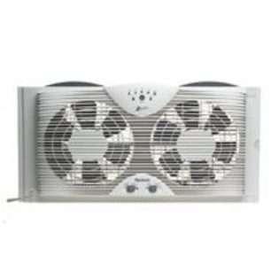 PATTON ELECTRIC 9 Twin Window Fan 3 Speed