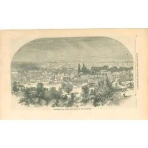 Print Washington D C From Dome of Capitol Building