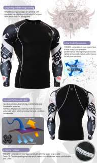 training Compression gear skin Shirt tight mens cpd b17