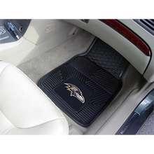 Fanmats Baltimore Ravens Two Piece Heavy Duty Vinyl Car Mats