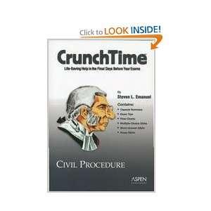 CrunchTime: Civil Procedure (9780735544697): Steven L