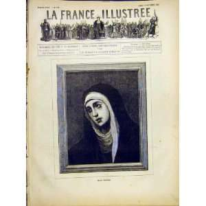 Portrait Sister Mother Dolorosa French Print 1882 Home