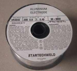 ALUMINUM MIG WELDING WIRE ER4043 .035 1 LB Spool, 4 Spools