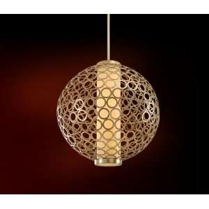 with Antique Mist Energy Star Pendant with Cream Ice Diffuser 72 44 F