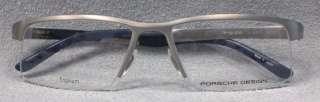 Original PORSCHE DESIGN Brille P8166 col A Silber TITAN