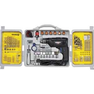 Variable Speed Heavy Duty Corded Drill With 150 Accessories (APT2014