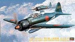 Hasegawa JT72 MITSUBISHI A6M5c ZERO TYPE 52 HEI 1/48 scale kit