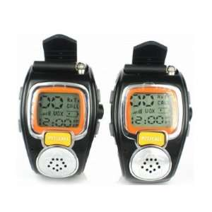 Wrist Watch  Auto Channel Scan  LCD display  Auto Squelch Electronics