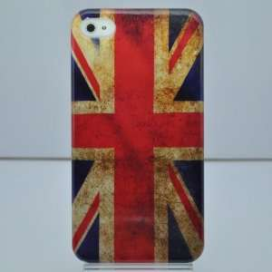 United Kingdom Flag Plastic Hard Cover for Iphone 4g/4s