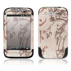 Toxic Birth Decorative Skin Cover Decal Sticker for HTC