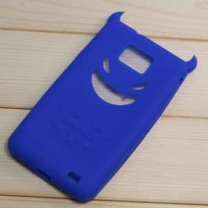 High Quality Soft Silicon Prussian Blue Demon Pattern Case