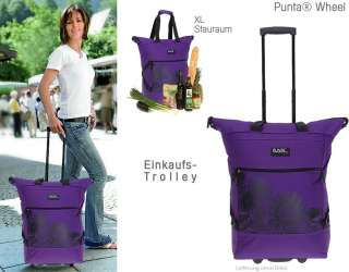 Shopper PUNTA CARRY Trolley Einkaufstrolley Einkaufskorb Trolly Rolly