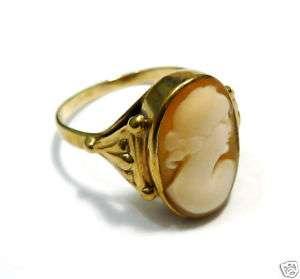 Gemmenring Goldring 333er Gold Ring Gemme