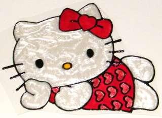 WINDOW COLOR Fensterbild Hello Kitty mit Perlmutfarben