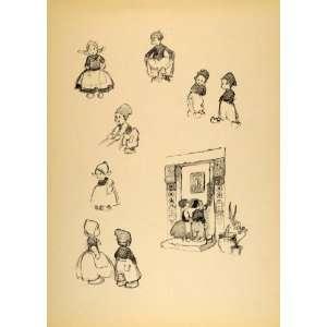 Disney Cartoon Hansel & Gretel Print   Original Print