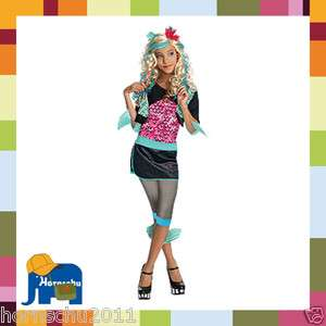 Kinder Kostüm Monster High Lagoona Blue Fasching Karneval