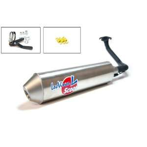Leo Vince Scooter Exhaust KYMCO AGILITY 50 R10 (4 stroke) Automotive