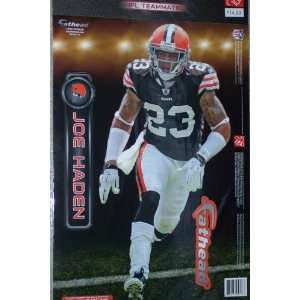 Joe Haden Fathead Cleveland Browns Official NFL Wall Graphic 16x 9