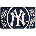 New York Yankees NY Large Outdoor Welcome Door Mat