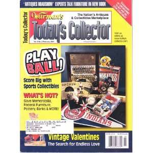 Todays Collector Magazine February 2001 Play Ball Score Big