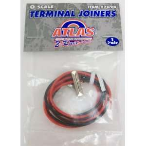 Atlas 7090 O Scale 2 Rail Terminal Joiners (Pr.) Toys & Games