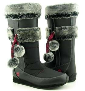 Kids Girls Timberland Winterbury Tall Winter Boots Size