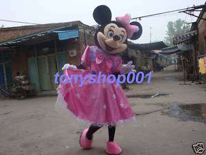 Halloween Minnie Mouse mascot Costume