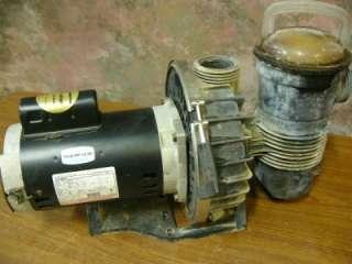 CHALLENGER 2.60 HP PAC FAB FILTER A.O SMITH B748 MOTOR POOL SPA PUMP
