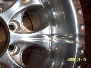 one Chevy Ford Dodge truck wheel 16in rat rod