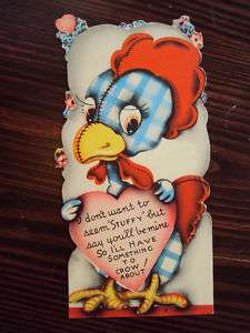 VINTAGE 1920s   1930s VALENTINES DAY CARD