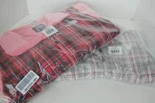 NWT AUTH THE NORTH FACE WOMENS DENALI FLEECE JACKET PINK PEARL & PLAID