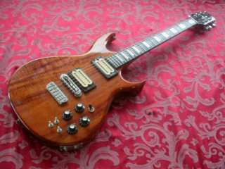 80s CARVIN DC 200 KOA SOLID BODY ELECTRIC GUITAR #623