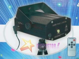 RC Mini DJ DISCO Laser Stage Light 150mW Red+Green B