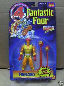 FANTASTIC FOUR FIRE LORD Toy Biz Figure 1995 Marvel