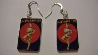 Tin Man Earrings Wizard of Oz Jewelry Dancing Classic